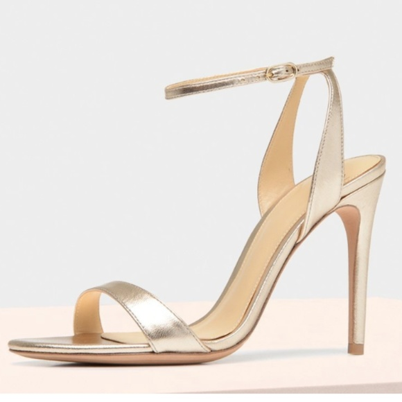 New Alexandre Birman Willow Sandal Gold